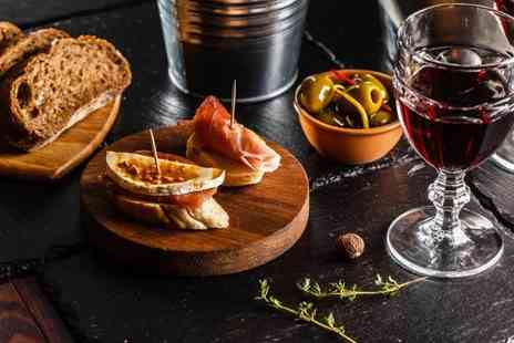 The Wine House 1821 - 6 Small plates to share and a glass of wine each or 12 plates to share for four people - Save 51%