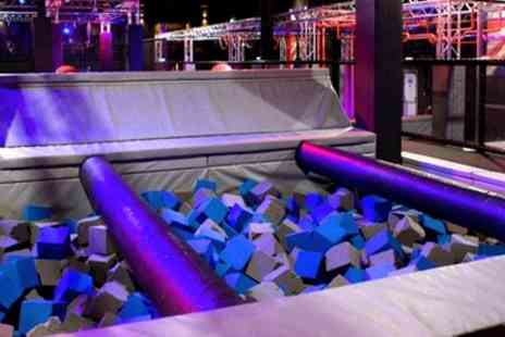 Ninja Warriors - Hour Entry to Ninja Warrior Adventure Park for One or Two - Save 25%