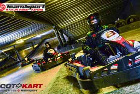 TeamSport - Up to 30 Minutes of Go Kart Racing - Save 37%