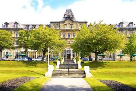 Palace Hotel Buxton - 1 or 2 Nights for Two with Breakfast, Bottle of Wine and Option for Dinner - Save 0%
