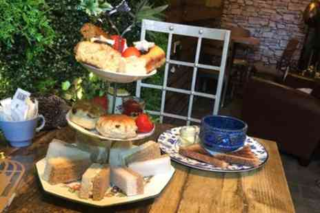 The Chosen Tea Room - Muddled Afternoon Tea and Cauldron Soup for One or Two - Save 36%