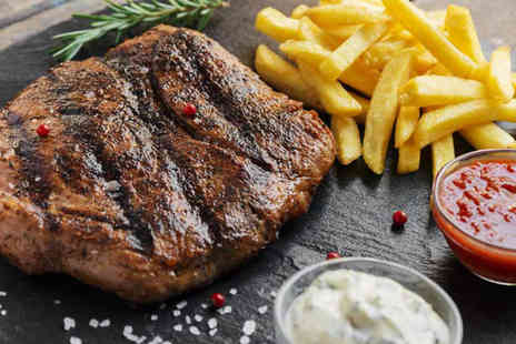 Esca - Fillet steak dining for two people with a glass of house wine each - Save 49%