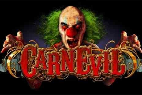 CarnEvil Reborn Halloween Horror Experience - General Admission Ticket from 25th To 26th October - Save 0%