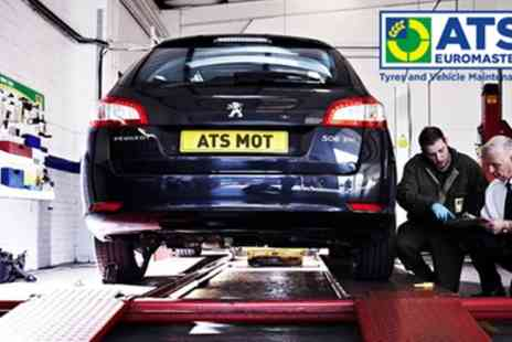 ATS Euromaster - MOT Test and 10% Off Repairs with Optional Techron Performance Restorer - Save 40%