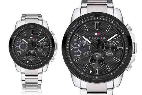 Best Watch Company - Tommy Hilfiger Decker stainless steel mens watch - Save 68%