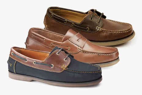 Samuel Windsor - Pair of boat shoes - Save 0%