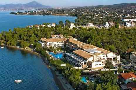 Negroponte Resort Eretria - Five Star Seafront Elegance on an Unspoiled Island for two - Save 54%