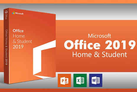 Software Giants - Microsoft Office Home and Student 2019 software package for Windows - Save 24%