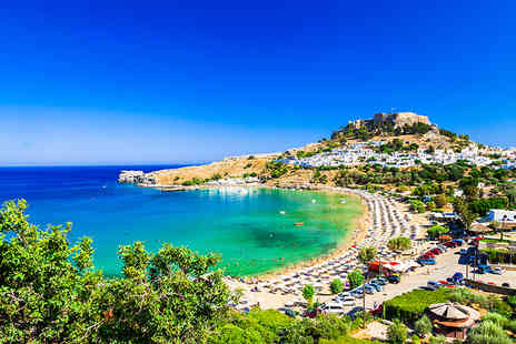 Super Escapes Travel - Four Star Seven nights all inclusive Rhodes holiday with return flights - Save 39%