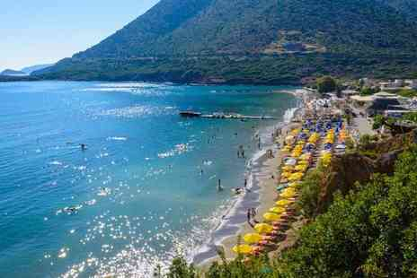 Super Escapes Travel - Seven nights all inclusive Crete beach break with return flights - Save 27%