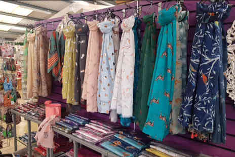 Hillmount Garden Centre - Two scarves from Hillmount Garden Centre on ladies shopping night - Save 70%