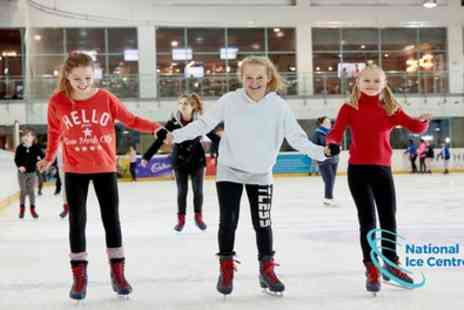 National Ice Centre - One junior, adult or family ticket from 1st To 31st October - Save 20%