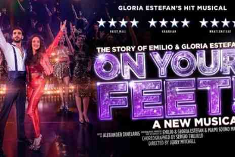 Get On Your Feet - One price band A or B ticket from 8th To 10th October - Save 52%
