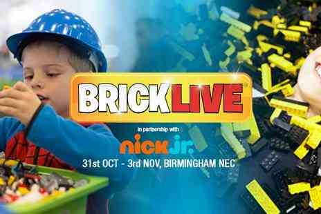 Multiplay Events - Brick Live 2019 The Ultimate Day Out for Any Lego Fans - Save 26%