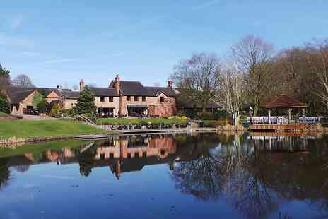 Moddershall Oaks Country Spa & Retreat - Staffordshire country getaway with meals - Save 0%