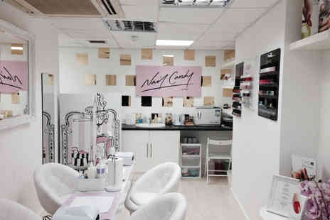 Nail Candy by KD - Shellac manicure or Shellac manicure and pedicure - Save 60%