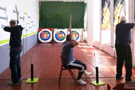Marple Archery - One hour archery session for two people  - Save 71%