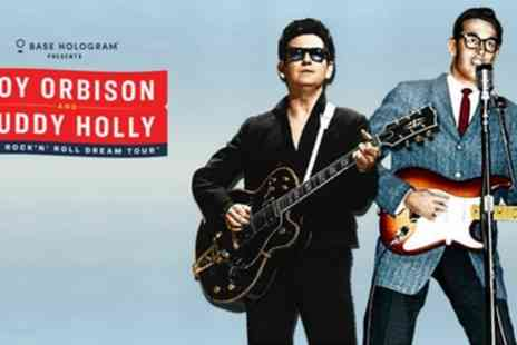 Roy Orbison and Buddy Holly - Ticket to Rock N Roll Dream Tour from 10th To 24th October - Save 53%