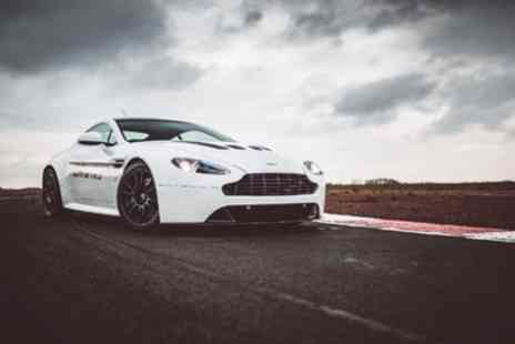Drift Limits - 14 LapAston Martin V8 Vantage Driving Experience for One or Two - Save 50%