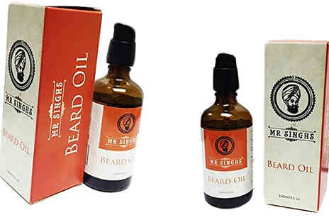 Forever Cosmetics - Sir Reginalds or Mr Singhs Beard Oil - Save 23%