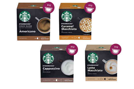 Euro Coffee Pods - Set of 36 Starbucks Dolce Gusto pods take your cuppas to a new level - Save 0%