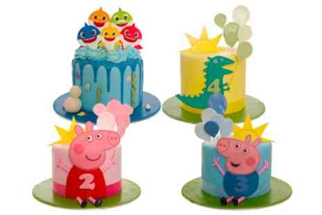 3D Cakes - Choice of Four Designs of a Childrens Party Cake with up to 40 portions - Save 77%
