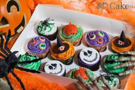 3D Cakes - 12 Halloween or Luxury Cupcakes - Save 73%
