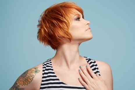 Volume Unisex Salon - Choice of Highlights or Full Head of Colour with Cut and Blow Dry - Save 50%