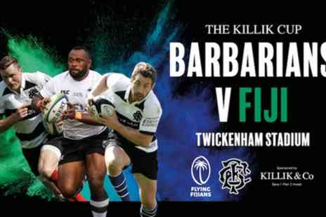 The Killik Cup - One category 1, 2, or 3 adult ticket or one category 2 To 4 child ticket to Barbarians v Fiji on 16 November - Save 10%