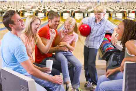 Disco Bowl - Family Bowling with Meal and Drinks - Save 0%