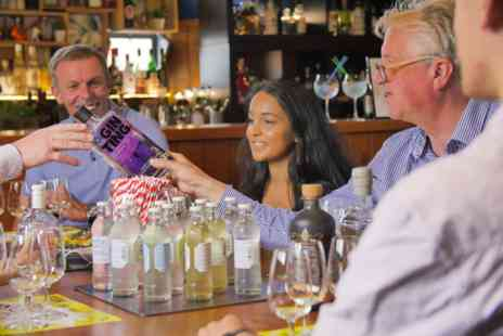 Gin Jamboree Gin School - Discover the Origins and History of Gin with Tastings for Two - Save 0%