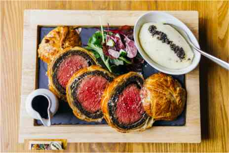 Gordon Ramsays - Beef Wellington Experience with Cocktail for Two - Save 0%