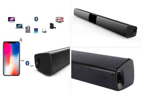 Secret Storz - Small wireless Bluetooth stereo bar speaker - Save 0%