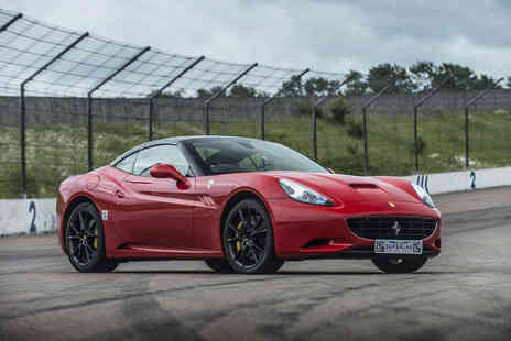 Supercar Drive Days - Three lap Ferrari California supercar driving experience and passenger hot lap - Save 0%