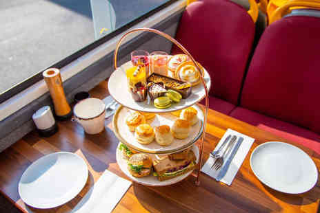 Golden Tours - Upper deck 90 minute Bella Vista bus tour of London with afternoon tea and a glass of Prosecco - Save 47%