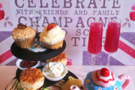 Temple Street Social - Afternoon Tea for Two Including Bubbly - Save 61%