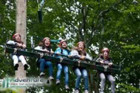 Tree Top Adventure - Sky Ride 3g giant swing experience - Save 50%