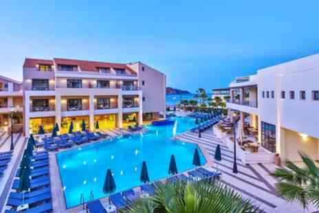 Crete All Inclusive Holiday - Five Star Up to 7 Nights All Inclusive Stay at Porto Platanias Beach Resort & Spa with Return Flights - Save 0%