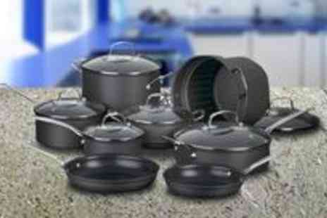 PoshRosh - Durable Cuisinart Chef's Classic eight piece non-stick saucepan set - Save 60%