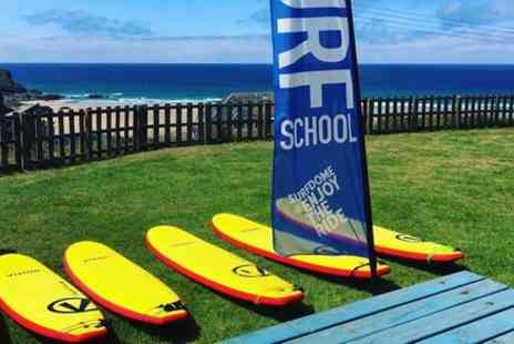 The Surf Club Cornwall - Surf lesson - Save 0%