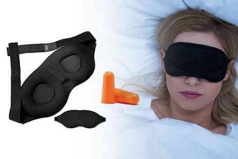 Vivo Mounts - Super soft memory foam sleep mask and ear plug - Save 67%