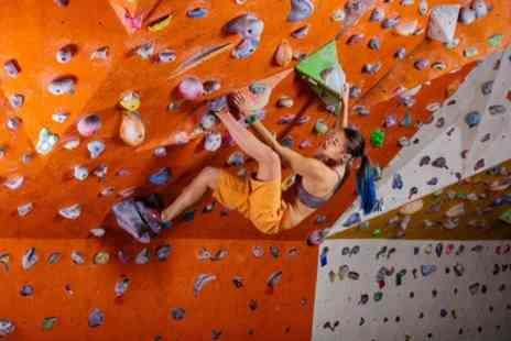 Kent And Sussex Climbing - Two Hour Indoor Climbing Session for One or Two Children - Save 56%