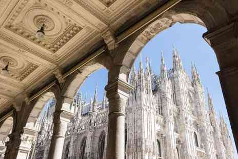 Unahotels Scandinavia Milano - Four Star Stylish Stay near the City Centre for two - Save 80%