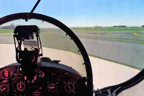 Top Gun Flight Simulator Centre - Fighter pilot simulator experience Near Manchester - Save 38%