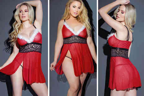 Gemnations - Christmas lingerie set - Save 76%