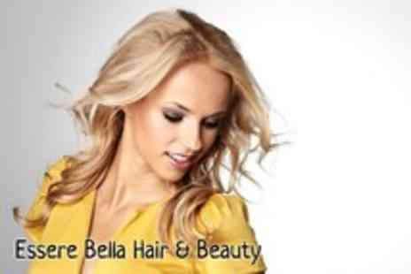 Essere Bella - Half head of highlights, Wella conditioning treatment, head massage & blow dry - Save 77%