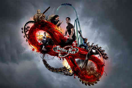 Thorpe Park Resort - Entry for one person Fright Night with all day park entry including rides and scare mazes - Save 49%