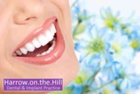 Harrow on the Hill Dental - Dental implant & porcelain crown, including x rays & hygiene treatment - Save 56%