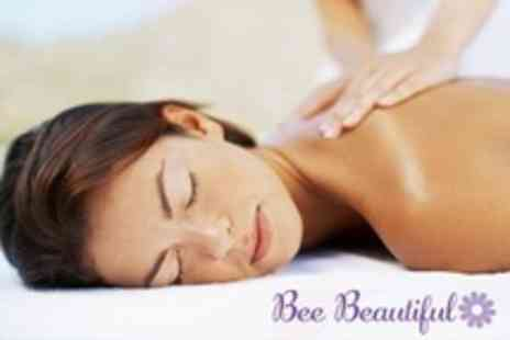 Bee Beautiful - One Hour Full Body Aromatherapy Massage Plus Mini Facial - Save 62%