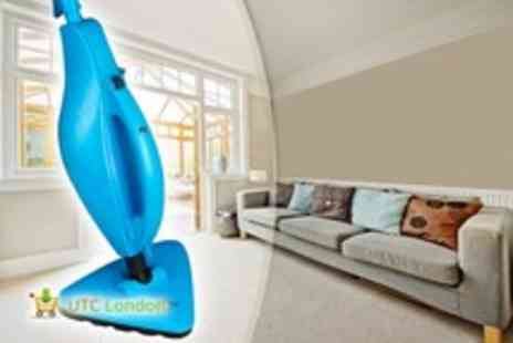 UTC London - Universal Steam Mop clean upholstery, carpet, stone - Save 51%
